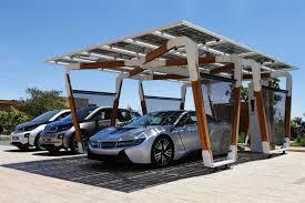 bmw presents solar carport concept for i cars autoevolution