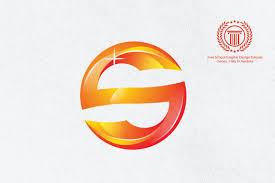 how to custom 3d letter s logo design in adobe illustrator cs6 for