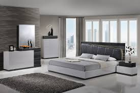lexi silver gray queen size bed lexi global furniture usa modern