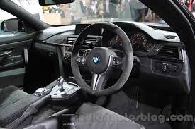 Bmw M4 Interior 2016 Bmw M4 Gts Interior At The 2015 Tokyo Motor Show Indian