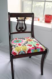 Recovering Dining Room Chair Cushions Excellent How To Reupholster Dining Chair With Reupholstering