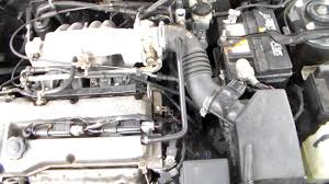 mazda protege 1 6l coil pack replacement youtube