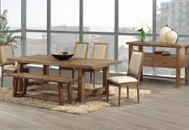 Dining Room Table Set With Bench Bench Rustic Dining Room Table Set Amazing Rustic Wood Bench