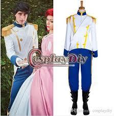 Custom Halloween Costumes Custom Mermaid Prince Eric Costume Uniform Suit