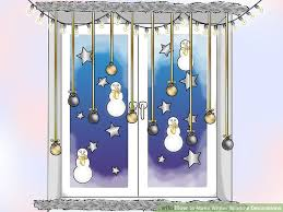 window decorations how to make winter window decorations 10 steps with pictures