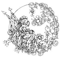 Hard Flower Coloring Pages - free coloring pages for adults printable hard to color to really