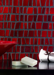 53 best red tile images on pinterest red kitchen tiles mosaic
