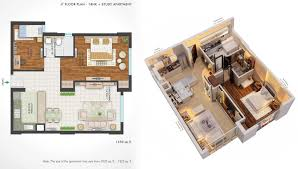 2 Bhk Home Design Plans by Central Park 2