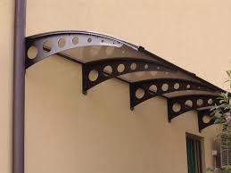 pensilina tettoia in policarbonato plexiglass pensiline in ferro e policarbonato avec tettoie con su misura et