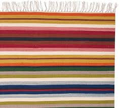 Kilim Indoor Outdoor Rug Sayulita Multi Stripe Kilim Recycled Yarn Indoor Outdoor Rug