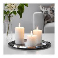 kornig scented block candle set of 3 ikea