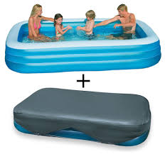 Intex Swim Center Family Pool Simple Inflatable Pool Slide Intex To Design