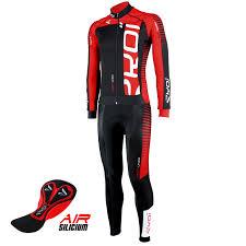 black cycling jacket ekoi perfolinea black red ls winter cycling jersey ekoi