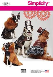 simplicity halloween costume patterns simplicity 1031 dog costume coats and hats