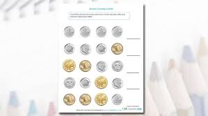 printable activity worksheets for older kids money counting activity