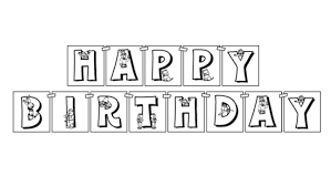 banner coloring pages happy birthday banner arthur birthday party pbs parents pbs