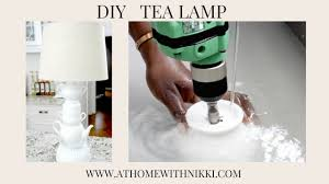 diy how to make a lamp home decor youtube