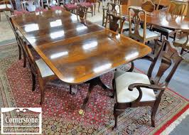 set of 6 statton solid cherry queen anne chairs baltimore