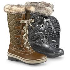 womens boots quilted s aspen quilted winter boots 297733 winter