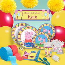 peppa pig birthday supplies peppa pig birthday party supplies theme party packs