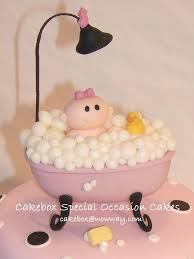 Baby Bath Tub With Shower Bathtub Baby Cake Topper Melanie Robertson Flickr
