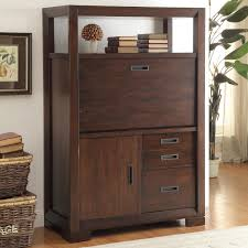 Solid Oak Computer Armoire by Furniture Interior Potted Plant With Dark Wood Computer Armoire