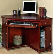 wood computer desk with hutch wood computer desks solid wood corner desk bay corner computer desk