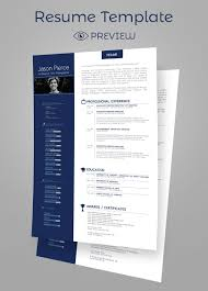 Best Resume And Cover Letter Templates by Simple Premium Resume Cv Design Cover Letter Template 4 Psd