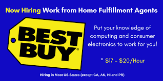 best states to work in best buy now hiring work from home fulfillment agents real work