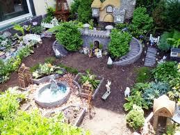 mini fairy garden ideas christmas lights decoration