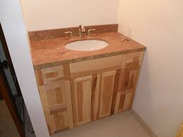 custom made hickory vanity by wood wise productions custommade com