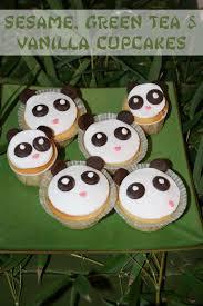 sesame cupcakes recipe panda vanilla sesame green tea cupcakes not quite nigella