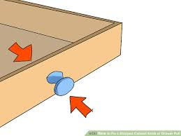 Fix Cabinet How To Fix A Stripped Cabinet Knob Or Drawer Pull 4 Steps