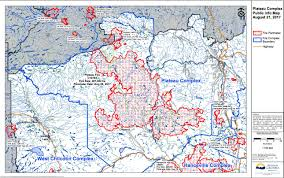 Wildfire Map Winds Anticipated Factor For Plateau Fire Williams Lake Tribune