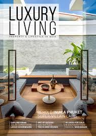 luxury home design magazine download luxury living magazine issue 9 2016 by luxury living magazine