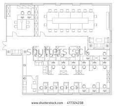 office floor plan symbols office floor plan vectors download free vector art stock