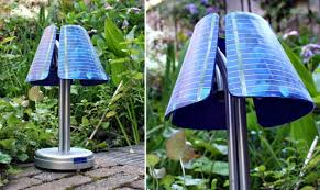eco gadgets solarmature u2013 a solar powered lamp for your living