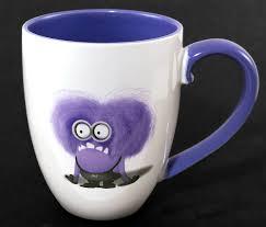 coffee mug despicable me universal studios purple evil minions coffee mug i