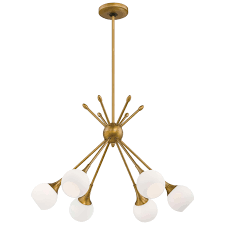 Sputnik Light Fixture by Drexler 6 Light Chandelier By Langley Street Via Wayfair Dining