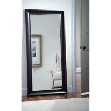 champlain 32 u2033 x 66 u2033 black framed leaner mirror u2013 hobo