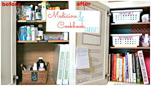 organize it the medicine and cookbook cabinet our fifth house