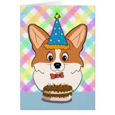 corgi birthday card u2013 gangcraft net