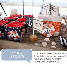 anchor baby shower ideas ahoy nautical party ideas inspiration big dot of happiness