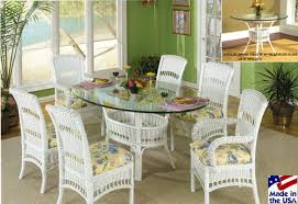 wicker dining table with glass top south hton rattan and wicker dining sets by classic rattan