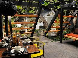 Our Favorite Outdoor Rooms - our favorite designer outdoor rooms jamie durie pergolas and bonsai