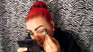 ringmaster halloween the ringmaster makeup tutorial youtube