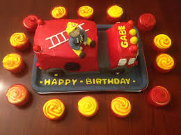 fire truck birthday cake cakecentral com