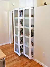 Sliding Door Design For Kitchen Barn Door Pantry Conceal The Contents Of A Kitchen Pantry Using A