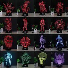 Iron Man Night Light Spiderman Light Ebay