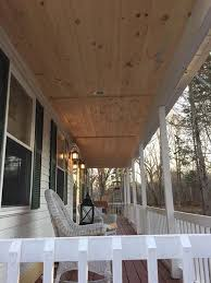 wife wants me to paint the new porch ceiling